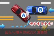超车与掉头导致的交通事故,哪些需负全责?